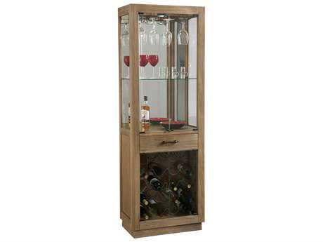 Howard Miller Sienna Bay Driftwood Wine & Bar Cabinet