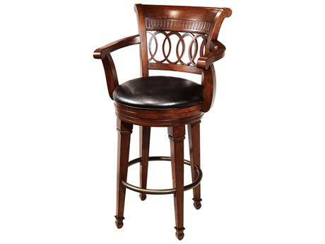 Howard Miller Cortland Tuscany Cherry Swivel Bar Stool