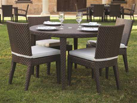 Hospitality Rattan Outdoor Soho Five Piece Dining Set