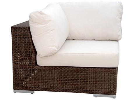 Hospitality Rattan Outdoor Soho Wicker Modular Lounge Chair HP9031321JBPC