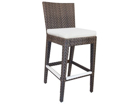 Hospitality Rattan Outdoor Soho Wicker Side Barstool