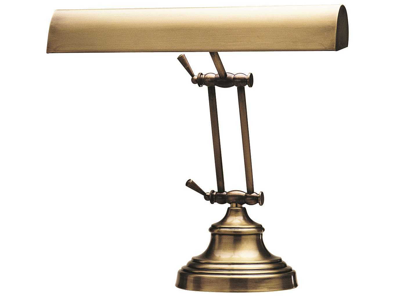 House Of Troy Advent Two Light Piano Amp Desk Lamp Htap1441
