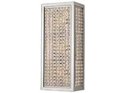 Hudson Valley Bold & Glamorous Norwood Polished Nickel Three-Light 5.75'' Wide Wall Sconce