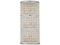 Hudson Valley Bold & Glamorous Sherrill Polished Nickel Three-Light 14.75'' Wide Wall Sconce