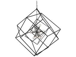 Hudson Valley Bold & Glamorous Roundout Polished Nickel 12-Light 34'' Wide Chandelier