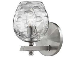 Hudson Valley Warm Modern Burns Satin Nickel 4.75'' Wide Vanity Light