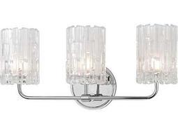 Hudson Valley Warm Modern Dexter Polished Chrome Three-Light 18.25'' Wide Vanity Light