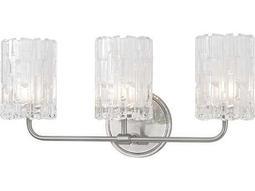 Hudson Valley Warm Modern Dexter Satin Nickel Three-Light 18.25'' Wide Vanity Light