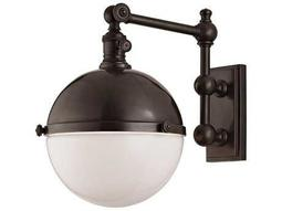 Hudson Valley Chic Vintage & Industrial Stanley Old Bronze 8.75'' Wide Wall Sconce