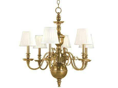 Hudson Valley Lighting Charleston Classic Heritage Six-Light 29'' Wide Chandelier