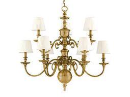 Hudson Valley Lighting Charleston Classic Heritage Nine-Light 36'' Wide Grand Chandelier