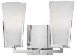 Hudson Valley Warm Modern Upton Polished Chrome Two-Light 11.5'' Wide Vanity Light