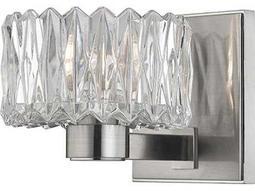 Hudson Valley Bold & Glamorous Anson Satin Nickel 5.5'' Wide Vanity Light