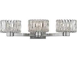 Hudson Valley Bold & Glamorous Anson Satin Nickel Three-Light 19.75'' Wide Vanity Light