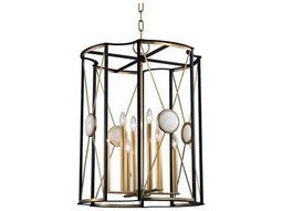 Hudson Valley Bold & Glamorous Cresson Aged Brass Eight-Light 23.5'' Wide Chandelier
