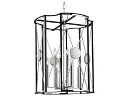 Hudson Valley Bold & Glamorous Cresson Polished Nickel Eight-Light 23.5'' Wide Chandelier