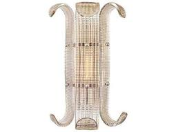 Hudson Valley Bold & Glamorous Brasher Polished Nickel 11'' Wide Wall Sconce