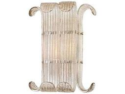 Hudson Valley Bold & Glamorous Brasher Polished Nickel Two-Light 13'' Wide Wall Sconce