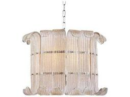 Hudson Valley Bold & Glamorous Brasher Polished Nickel Eight-Light 22.75'' Wide Grand Chandelier