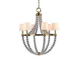 Hudson Valley Lighting Danville Bold & Glamorous Six-Light Grand Chandelier