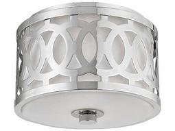 Hudson Valley Classic Heritage Genesee Polished Nickel 10'' Wide Flush Mount Light