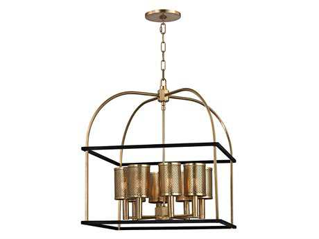 Hudson Valley Lighting Vestal Chic Vintage & Industrial Eight-Light 21'' Wide Chandelier