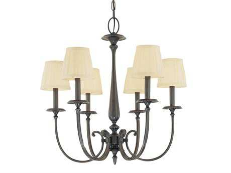 Hudson Valley Lighting Jefferson Classic Heritage Six-Light Chandelier