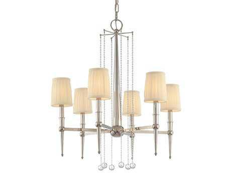Hudson Valley Lighting Laurel Bold & Glamorous Six-Light 25'' Wide Chandelier