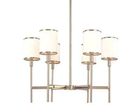 Hudson Valley Lighting Aberdeen Warm Modern Six-Light Chandelier