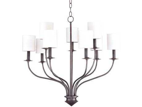 Hudson Valley Lighting Sheffield Timeless Elegance Nine-Light Chandelier
