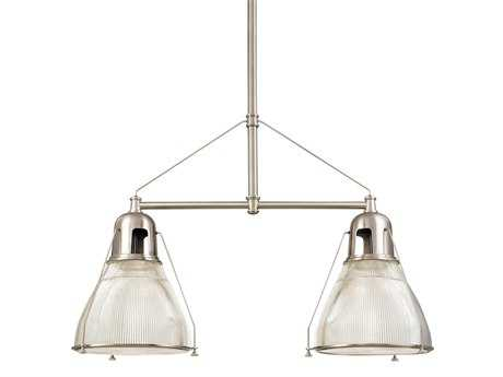 Hudson Valley Lighting Haverhill Chic Vintage & Industrial Two-Light Island Light