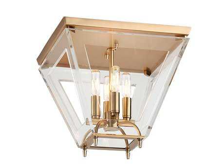Hudson Valley Lighting Andover Warm Modern Four-Light Flush Mount Light
