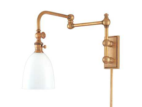 Hudson Valley Lighting Roslyn Chic Vintage & Industrial Swing Arm Light