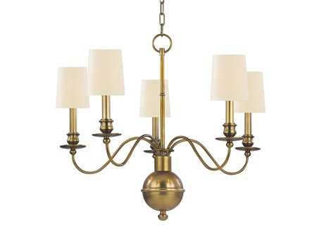 Hudson Valley Lighting Cohasset Classic Heritage Five-Light Chandelier