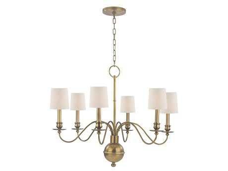 Hudson Valley Lighting Cohasset Classic Heritage Six-Light Chandelier