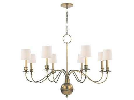 Hudson Valley Lighting Cohasset Classic Heritage Eight-Light Chandelier