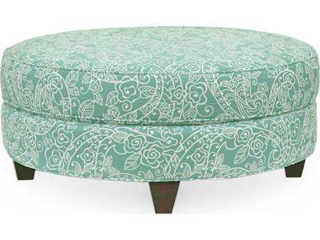 Homeware by Hooker Furniture Bellemy Aquamarine Ottoman