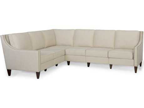 Homeware by Hooker Furniture Leo Linen Sectional Sofa