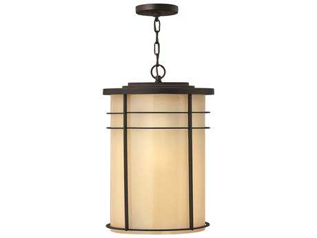 Hinkley Lighting Ledgewood Museum Bronze CFL Outdoor Pendant Light