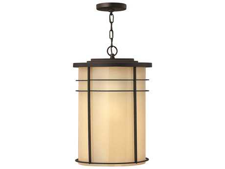 Hinkley Lighting Ledgewood Museum Bronze LED Outdoor Pendant Light