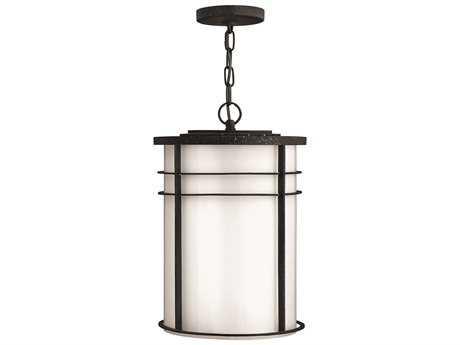 Hinkley Lighting Ledgewood Vintage Black LED Outdoor Pendant Light