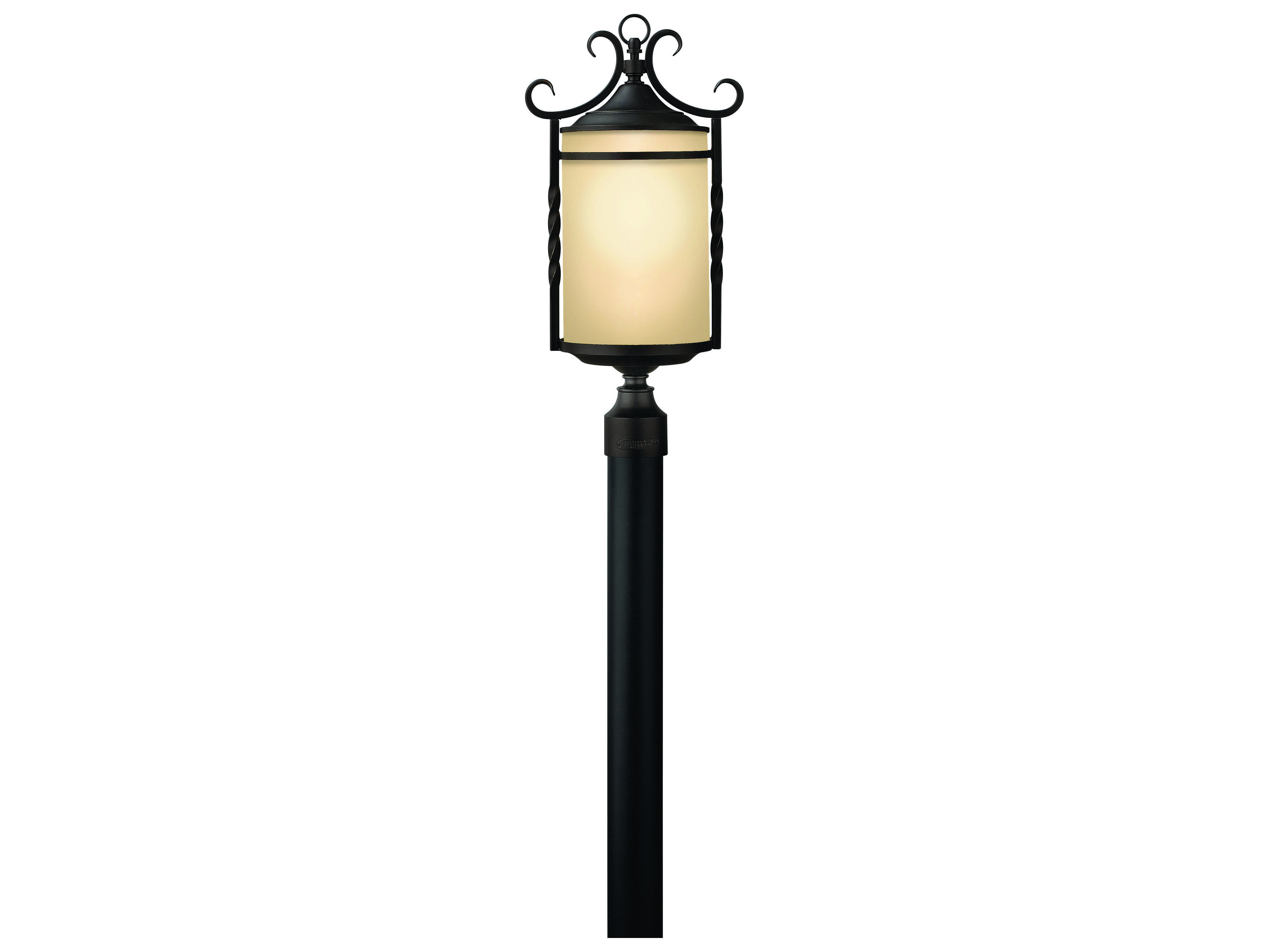 Hinkley Lighting Casa Olde Black Led Outdoor Post Light