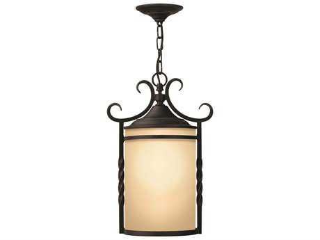 Hinkley Lighting Casa Olde Black LED Outdoor Pendant Light