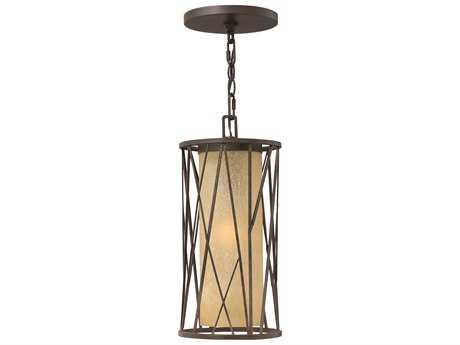 Hinkley Lighting Elm Regency Bronze Incandescent Outdoor Pendant Light