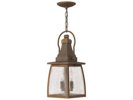Hinkley Lighting Montauk Sienna LED Outdoor Pendant Light