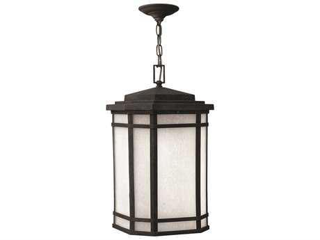 Hinkley Lighting Cherry Creek Vintage Black CFL Outdoor Pendant Light