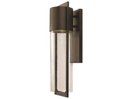 Hinkley Lighting Shelter Buckeye Bronze CFL Outdoor Wall Light