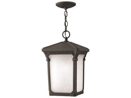 Hinkley Lighting Stratford Museum Black LED Outdoor Pendant Light