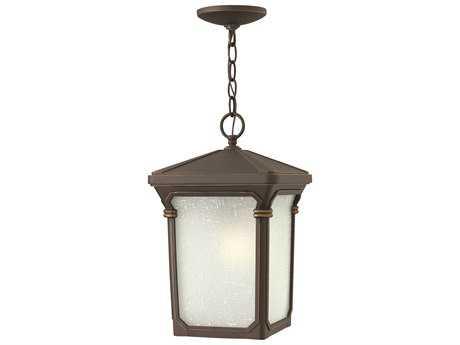 Hinkley Lighting Stratford Oil Rubbed Bronze LED Outdoor Pendant Light