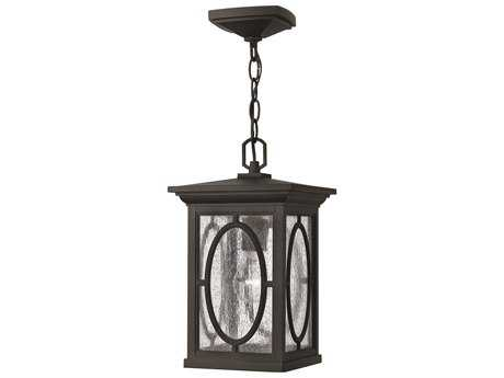 Hinkley Lighting Randolph Black CFL Outdoor Pendant Light